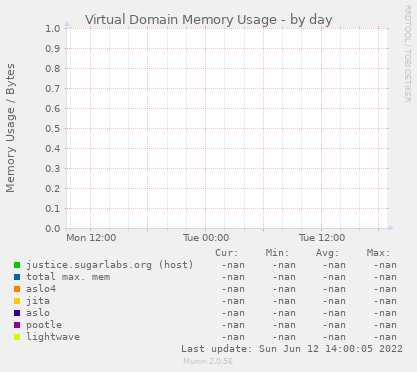 Virtual Domain Memory Usage